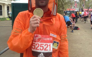 IanW marathon medal
