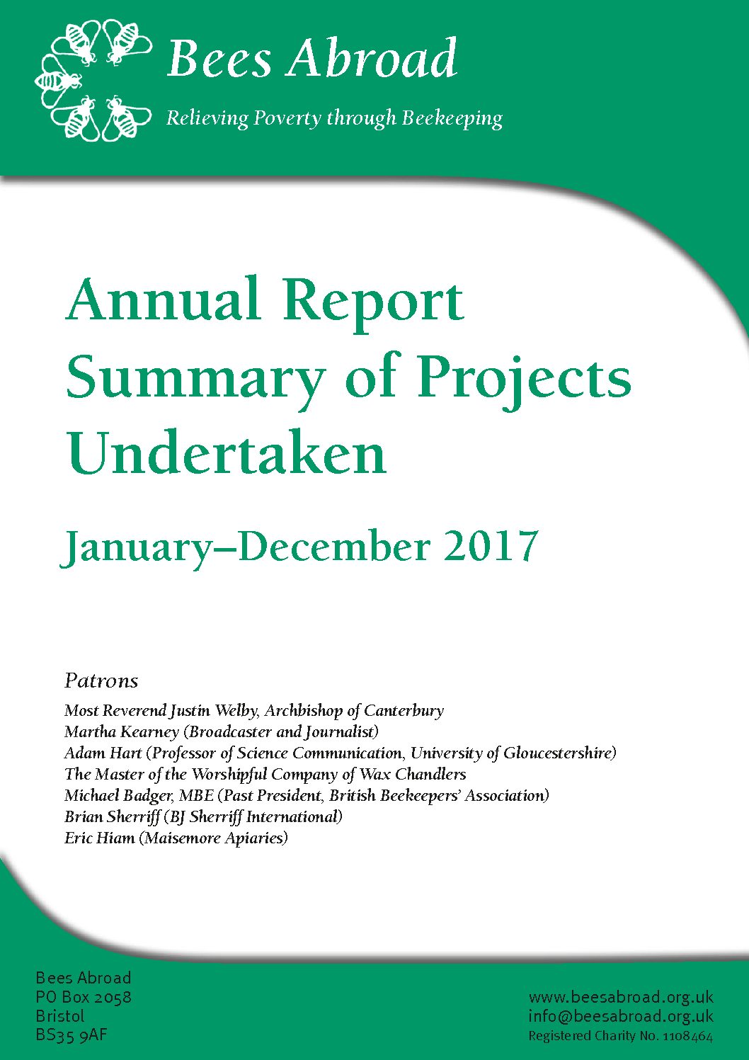 Annual Project Report 2017