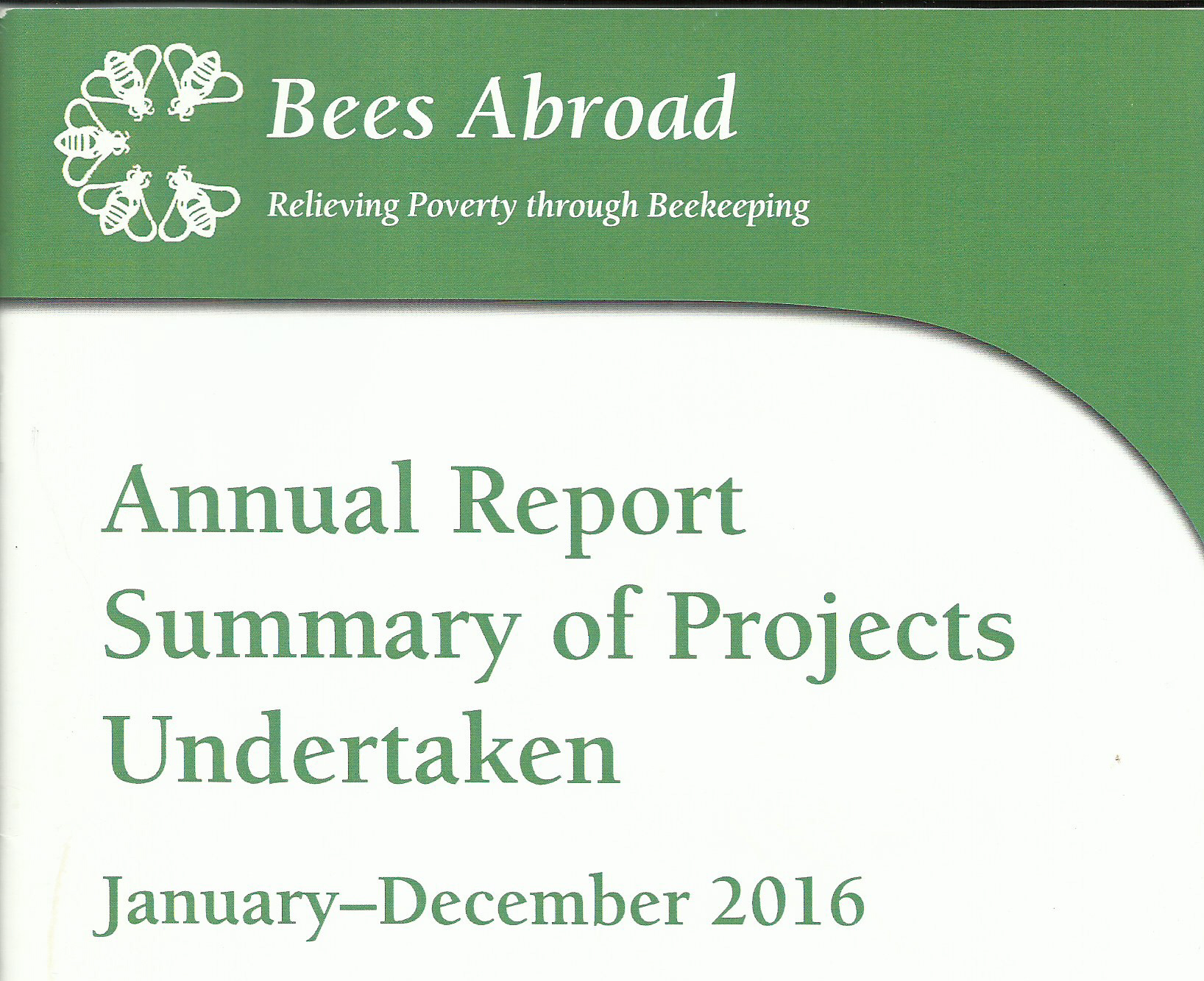 Annual Project Report 2016