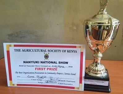 Kenyan partner wins First Prize