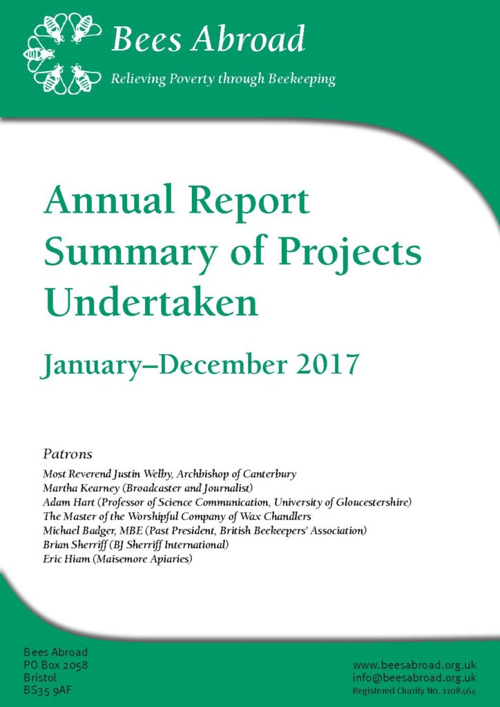 Beesabroad Annual Report 2017 final web1