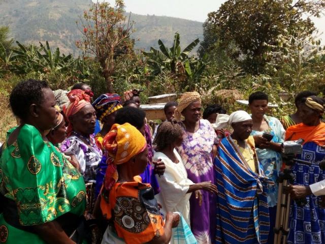 Richard & Jane Ridler visit Uganda
