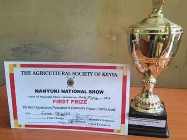 Kenyan partner wins First Prize