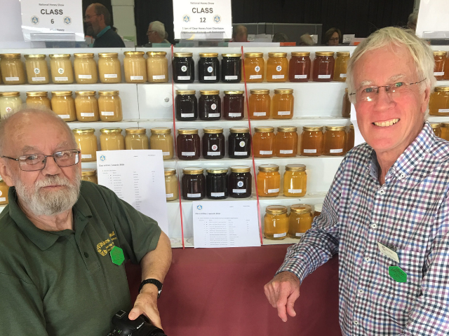 Success at BBKA National Honey Show