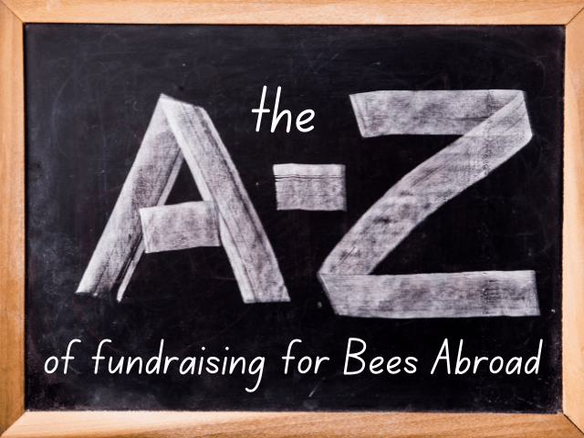 Do something special – the A – Z of fundraising for Bees Abroad